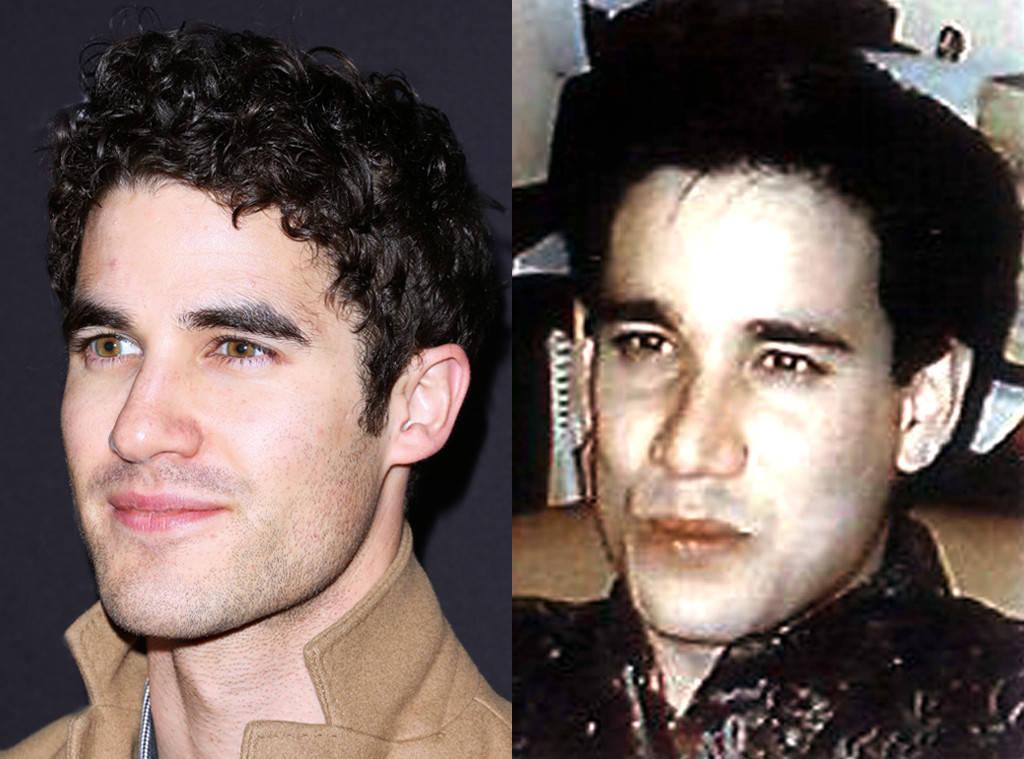 Resultado de imagen para Darren Criss, como el asesino Andrew Cunanan.