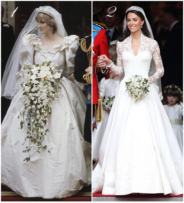 vestido de novia dela princesa diana de gales – vestidos largos